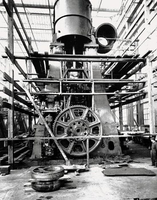 Her Engine Room She Had Two