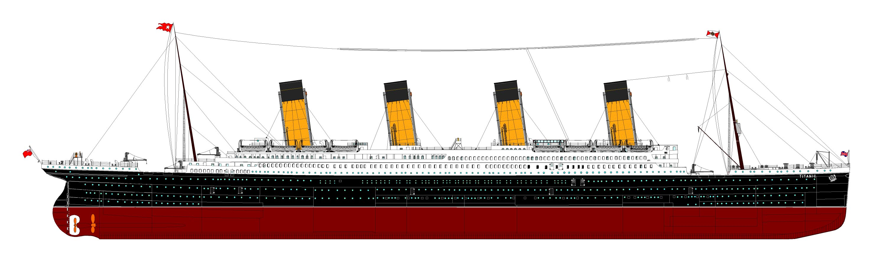 titanic planning