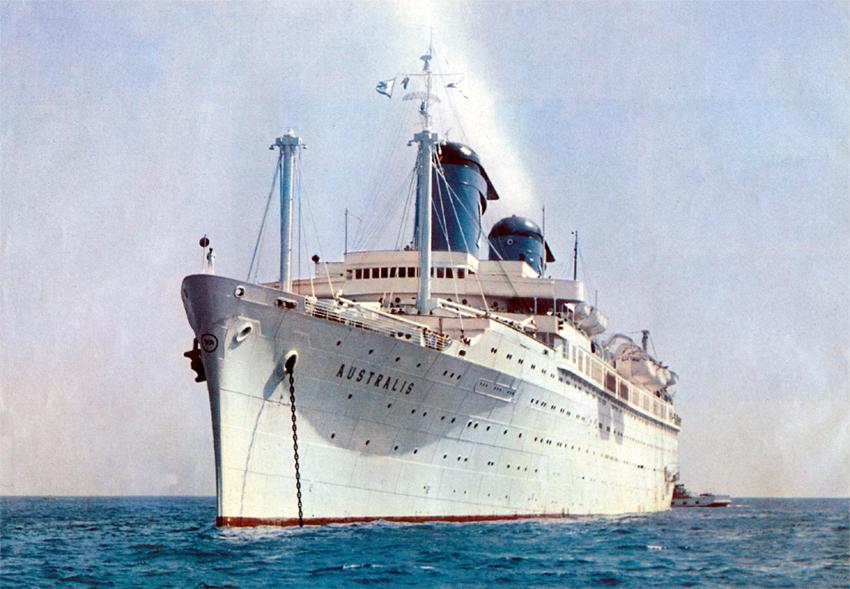 Chandris Lines Ss Australis Deck Plan