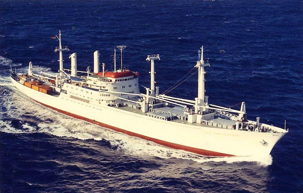 Ms Cap San Diego Luxury German Trans Atlantic Passenger