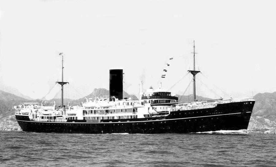 The China Navigation Co Ltd Ms Anking 1950 Amp Ms Anshun 1951