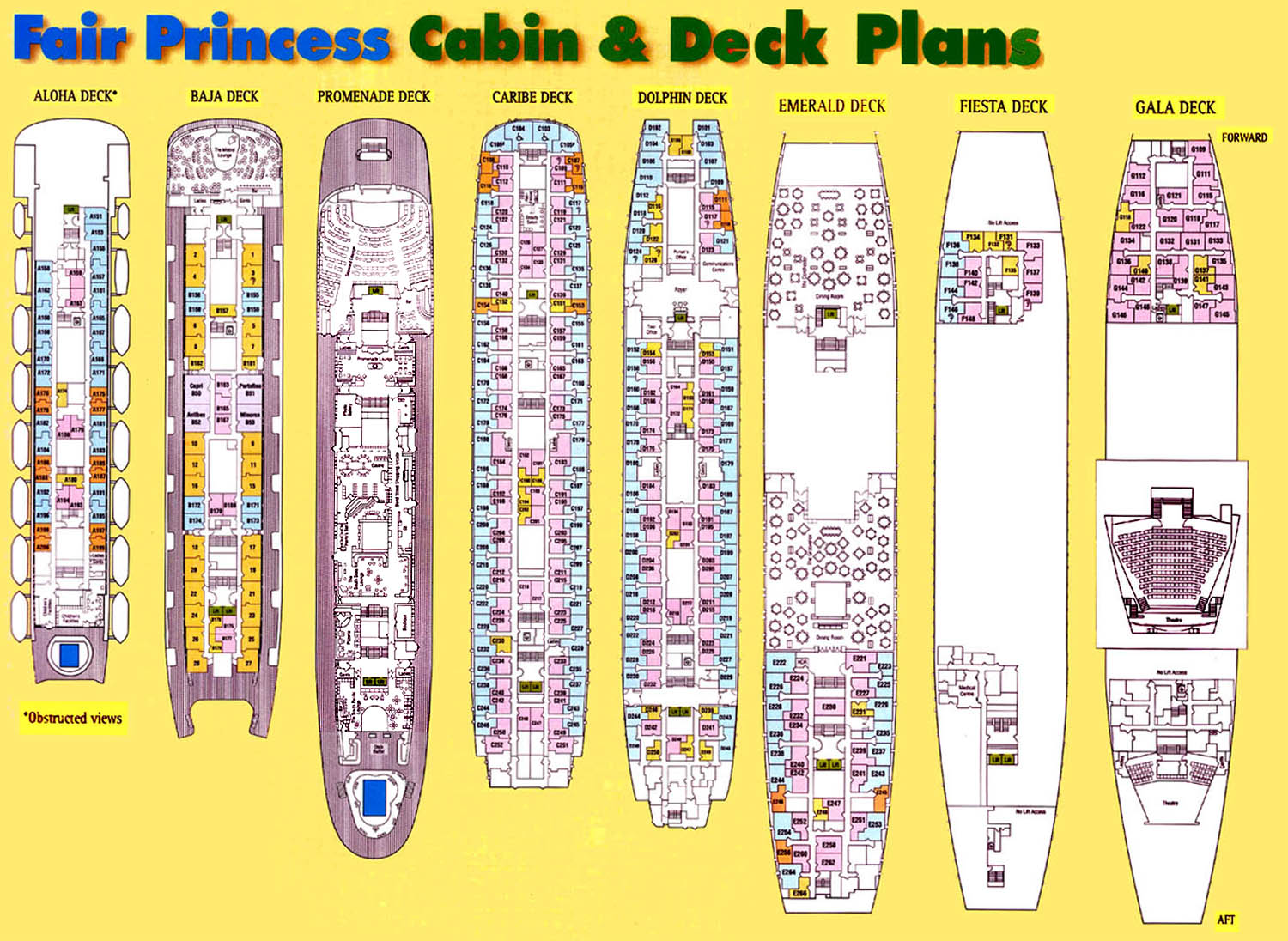 Sitrmar cruises tss fairsea fairwind of 1971 72 deck plans remembering two magnificent and genuine classic cruise ships the baanklon Choice Image