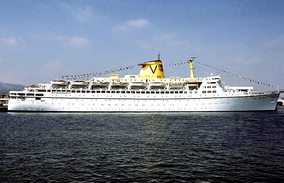 Sitmar Cruises TSS Fairsea And The TSS Fairwind 1971 Amp 1972