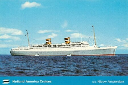 SS Nieuw Amsterdam - Holland new amsterdam cruise ship