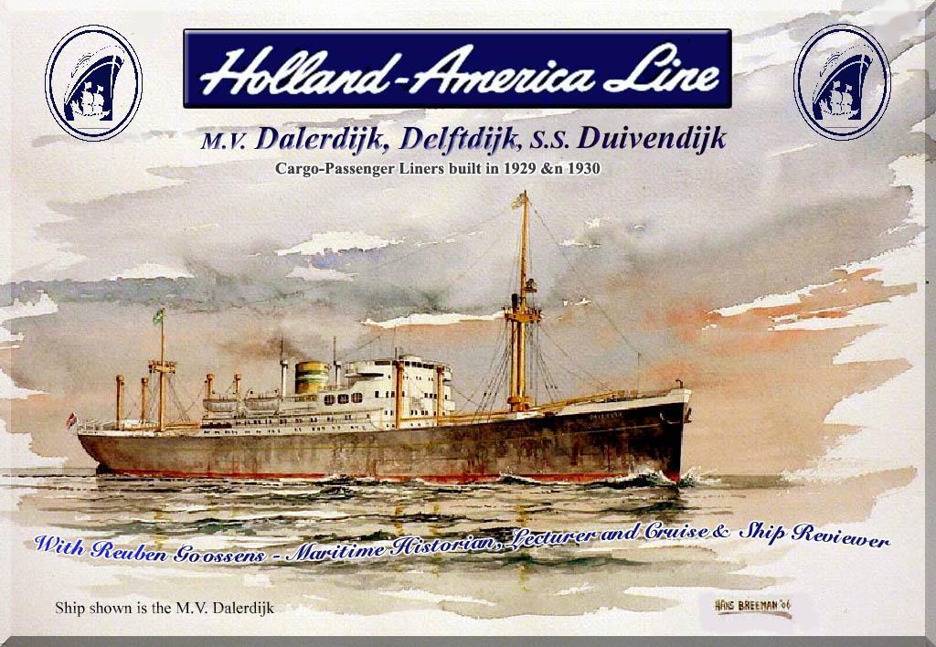 holland america line mv dalerdijk delftdijk amp duivendijk