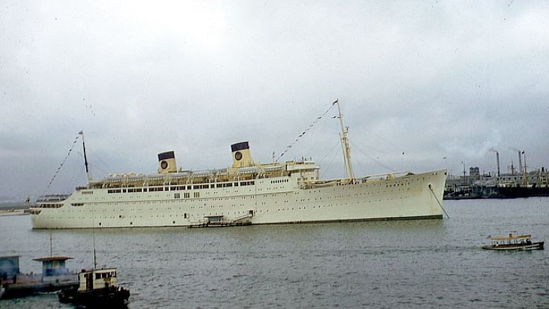 SS Mariposa 1932  The First Of A Trio Of Matson Liners