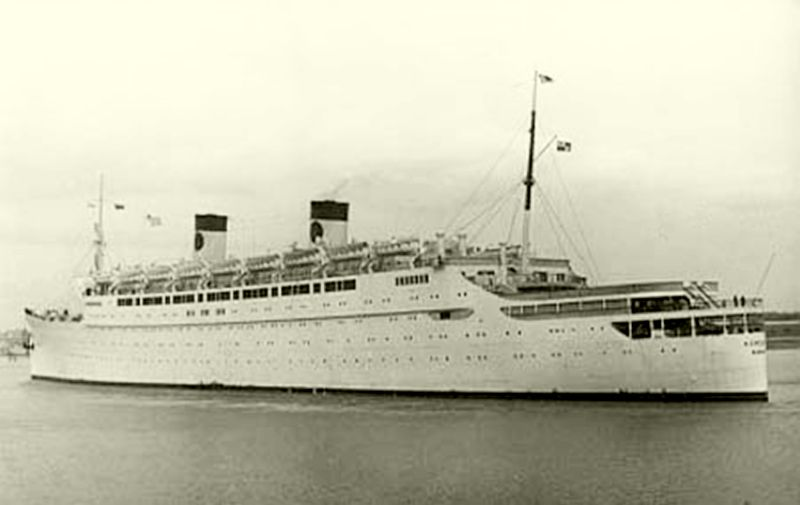 SS Mariposa The First Of A Trio Of Matson Liners - Homeric cruise ship