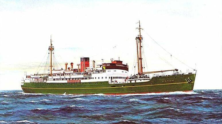 Union Steamship Company Mv Matua