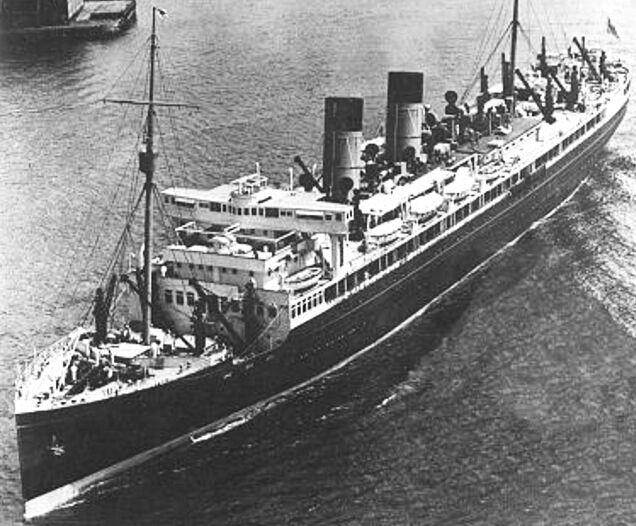 Union Stean Ship Co Of New Zealand TSS Monowai - 1930s cruise ships