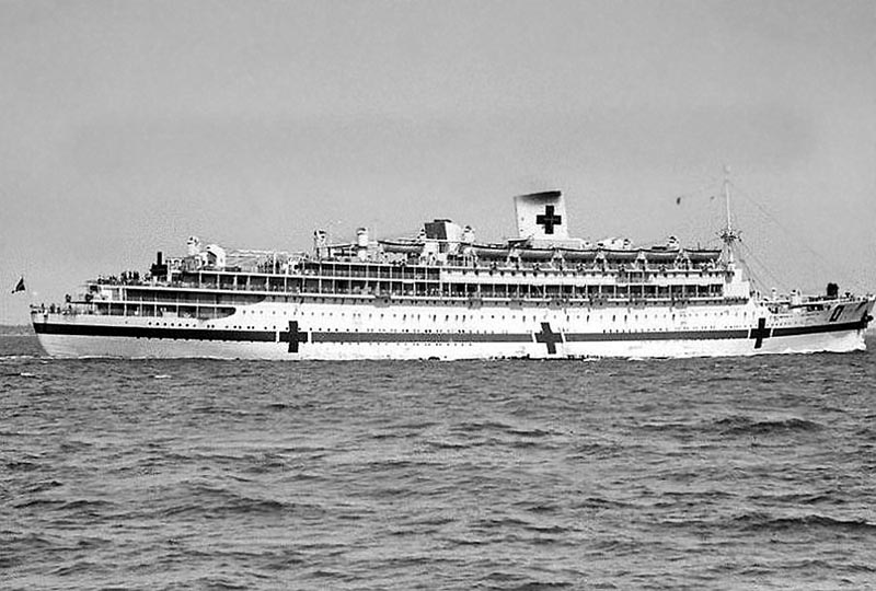 Les nouvelles de la R.P. du Valdisky Oranje-Aust-Hospital-Ship