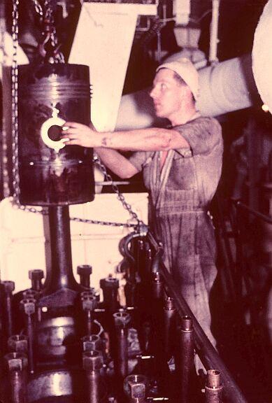 Cargo Ship Engine Room: The John Whitehead Story