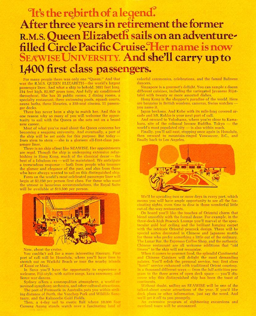 Rms queen elizabeth seawise university brochures seawise queen is seen ablaze in hong kong harbour the queen elizabeths sad demise baanklon Gallery