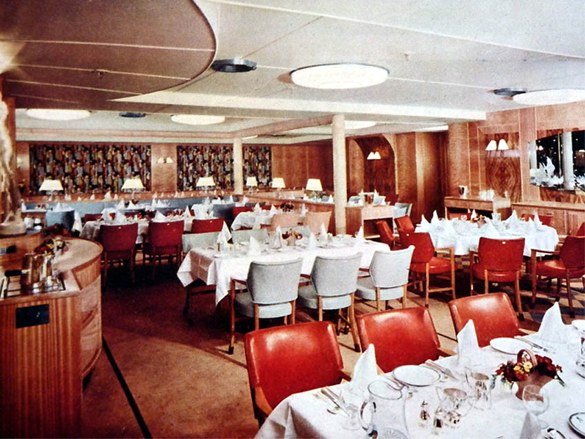 reina del mar built 1956