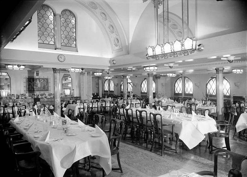 Mv Georgic Dining Room