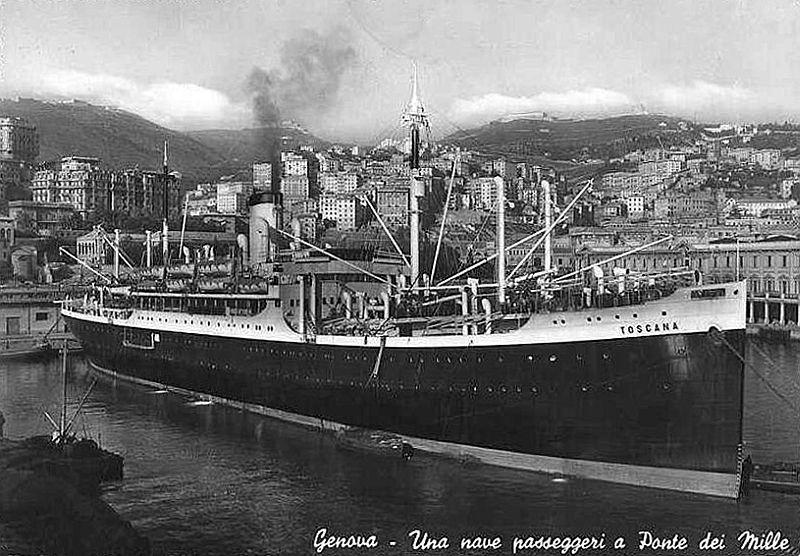 Lloyd Triestino - SS Toscana