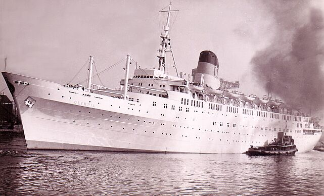 Tss Olympia A Birth At Sea Jim Bournelis