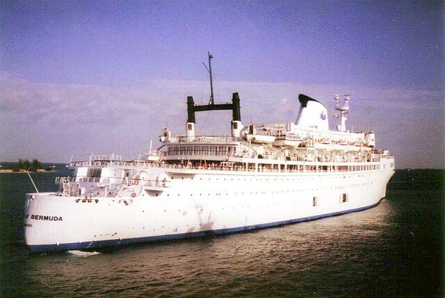 SS Brasil Volendam Enchanted Seas - Queen of bermuda cruise ship